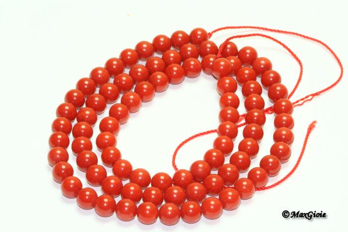 Collana Corallo Bambù, Necklace Corallo Bambu