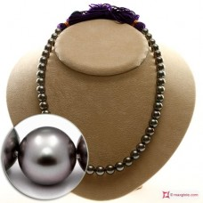 Extra Tahiti Pearl Necklace 9-10mm 255kt