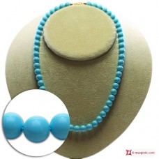 Extra Turquoise Necklace 8mm in Gold 18K [various lengths]