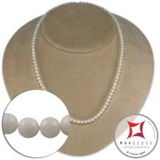 Collana Corallo bianco Extra 4-4¾mm in Oro 18K [vari diametri]