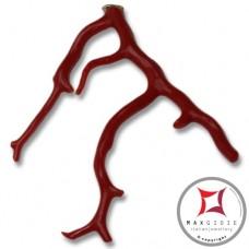 Pendente Corallo rosso Extra ramo grande in Oro 18K id2068