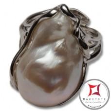 Anello etrusco Perle in Argento 925 id0021