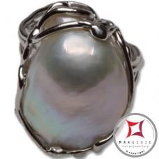 Anello etrusco Perle in Argento 925 id0023