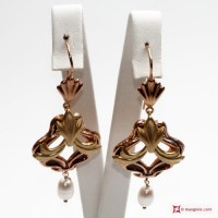 Orecchini Vintage [Perle] in Argento 925 id18