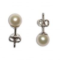Orecchini Perle 5-5½mm in Oro 18K
