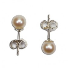 Orecchini Perle 5½-6mm in Argento