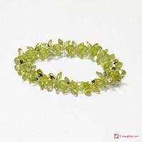 Bracciale Zircone verde chiaro 172 ct