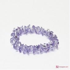 Bracciale Zircone lilla chiaro 177 ct