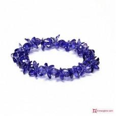 Bracciale Zircone lilla scuro 165 ct
