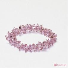 Bracciale Zircone rosa 166.5 ct